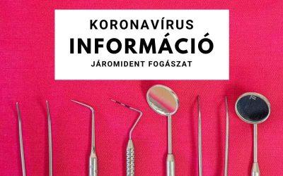 Koronavírus információ